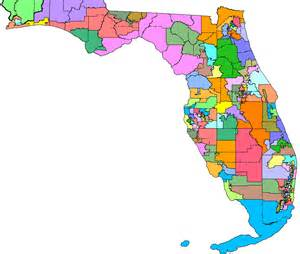 florida senate district map 2000 redistricting