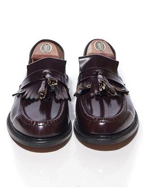 loake brighton loafers mod shoes loake brighton oxblood tassel loafer 02 f