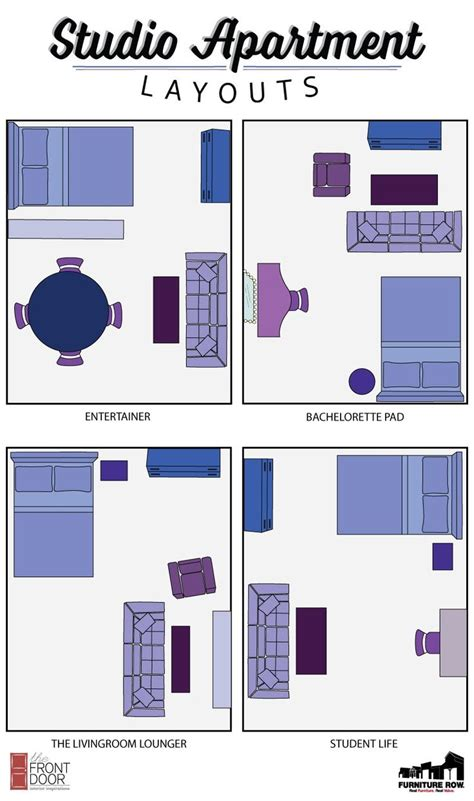 studio apartment furniture layout 25 best ideas about studio apartment layout on pinterest