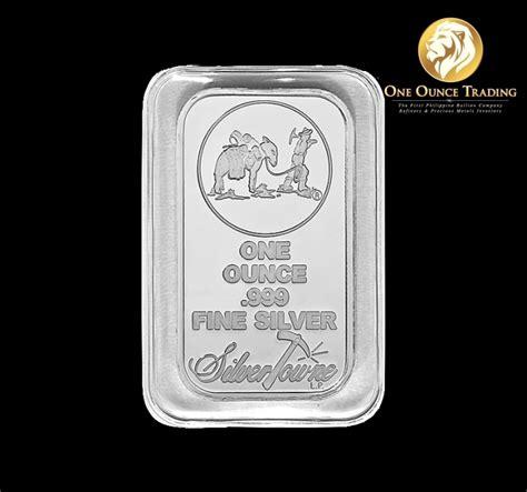 1 Oz 999 Silver Bar Silvertowne - 1 oz silvertowne prospector silver bar sealed one