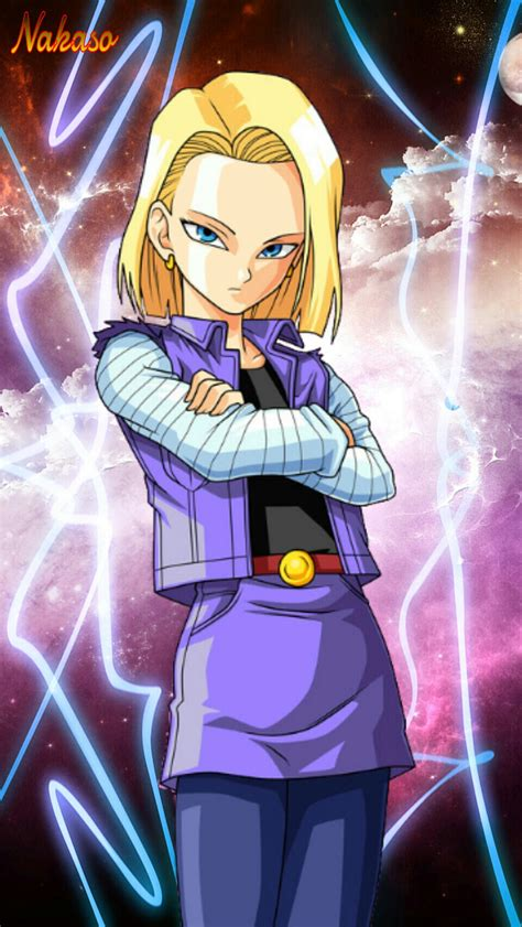 dragon ball z wallpaper android download dbz android 18 wallpaper by nakaso on deviantart
