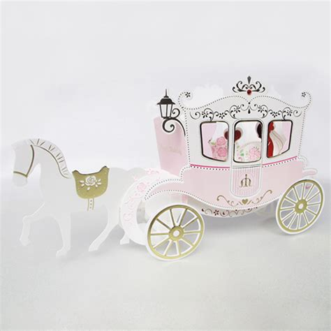 Origami Carriage - series fantastic wedding carriage handmade