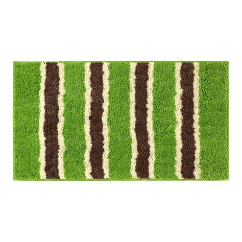 home depot bath rugs bathtopia ace lime 18 in x 30 in bath rug ymb002314 the home depot