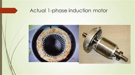 induction motor stator yoke single phase induction motor ppt