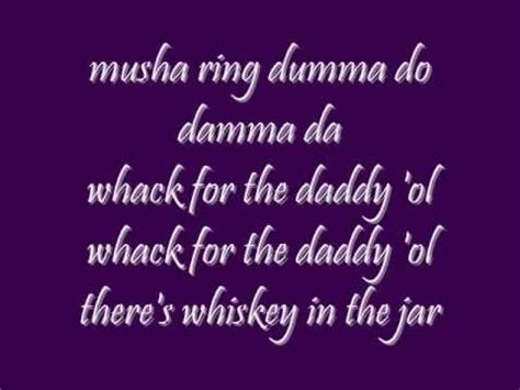 metallica whiskey in the jar lyrics 17 best images about wiskey in the jar on pinterest