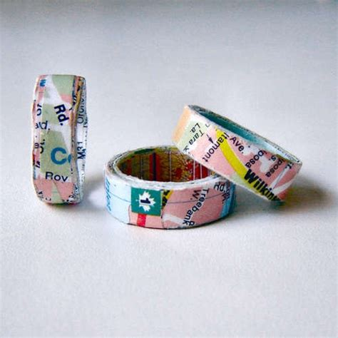 How To Make Paper Ring - 503 best paper and jewellery images on