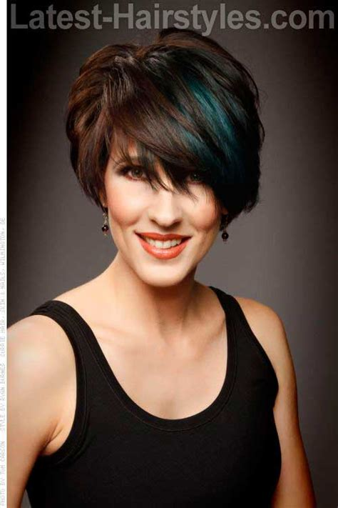 short haircuts for brunette women over 40 15 short hair cuts for women over 40 short hairstyles