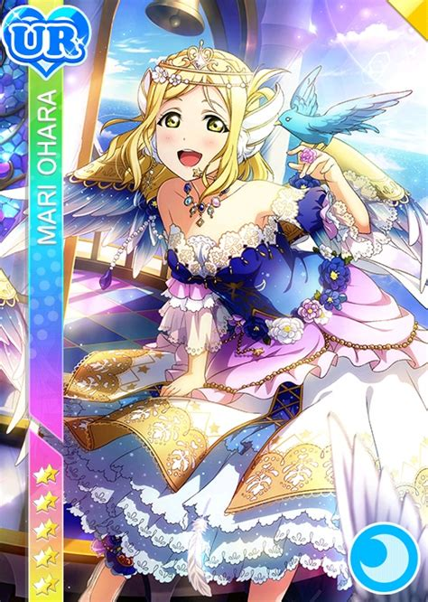 live school idol festival card template ur file mari cool ur1198 t jpg live school idol festival