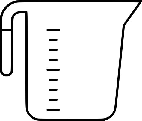 measuring cup clipart cup clipart measuring cup pencil and in color cup