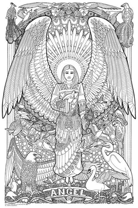 coloring pages of angels for adults 20 free printable angel coloring pages for adults