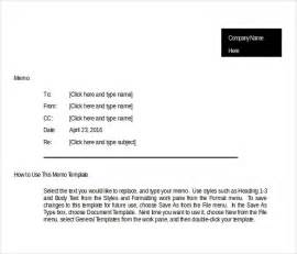 templates of memos 13 business memo templates free sle exle format