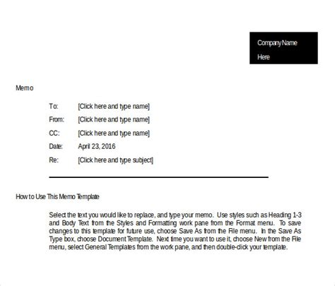 blank memo template 18 free word pdf documents download