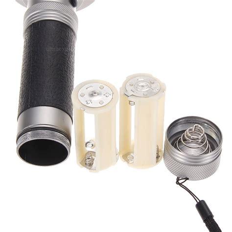 100 mini led uv violet scorpion detector flashlight