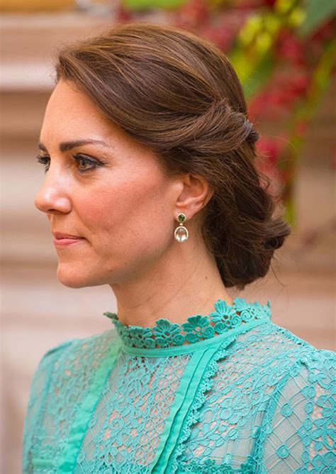 fashion forward hair up do how to recreate kate middleton s chic braided updo in six