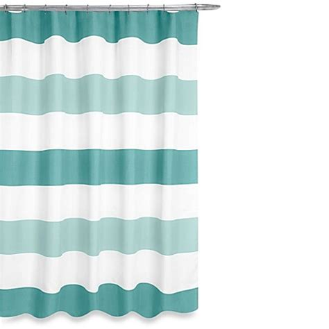 aqua shower curtain buy boca shower curtain in aqua from bed bath beyond