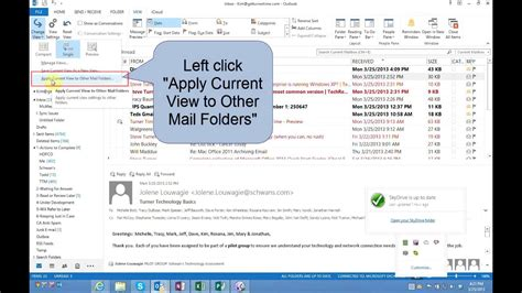 outlook 2013 change color how to change color of unread messages in inbox outlook