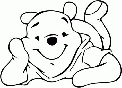 imagenes de winnie pooh solo para colorear winnie pooh para colorear