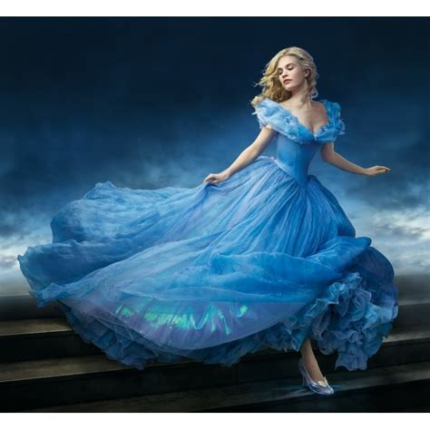 Cinderella Blue Dress in Cinderella 2015 Movie