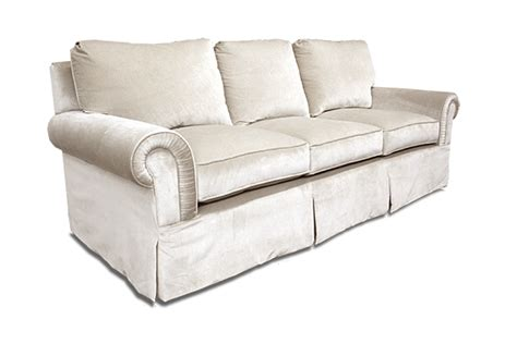 sofa skirt park row upholstered sofa with skirt