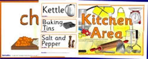 Kitchen Area Labels Food And Recipes Primary Teaching Resources And Printables