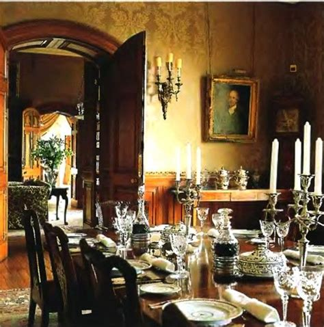 country dining room  country england house