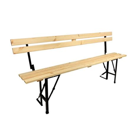 folding benches uk folding bench with back support site furniture