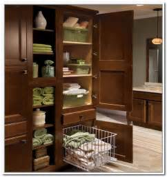 Bathroom Linen Storage Ideas Bathroom Linen Closet Organizers Home Design Ideas