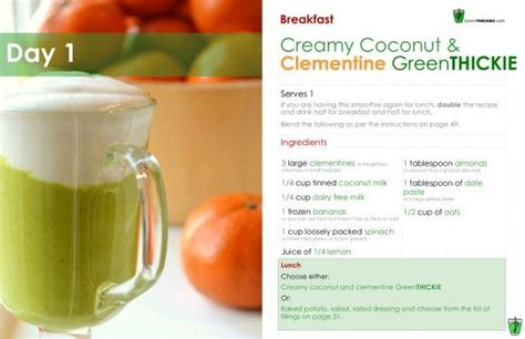 Green Detox Diet Plan by 7 Day Diet Plan For Weight Loss And Improved Health