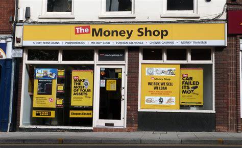 Shoo The Shop payday lender the money shop on sale due to quot tough times quot