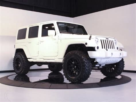 Jeep Black White List bright white jeep wrangler unlimited 4x4 gonna buy