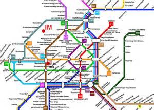 Vienna Subway Map by Vienna Train And Metro Map