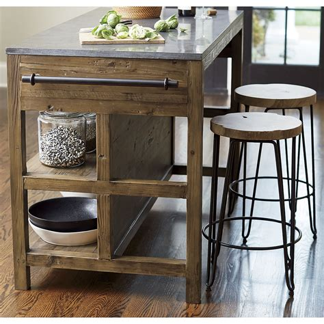 kitchen adorable natural wood kitchen island barnwood
