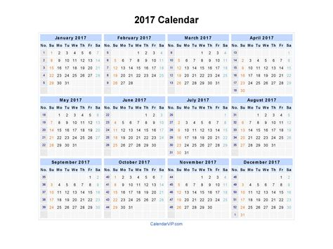 2017 monthly calendar printable templates webelations