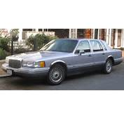 1993 LINCOLN TOWN CAR  Image 3