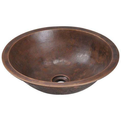 bronze bathroom sinks polaris sinks dualmount bathroom sink in bronze p159 the
