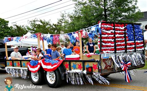 parade decorations parade float ideas for july 4th tip junkie