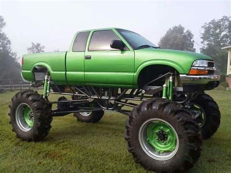 mega truck 4 link chevy s10 mega mud truck offroad pinterest chevy s10
