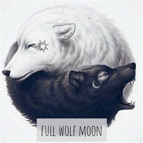 Wolf And Moon wolf moon emily hockstra