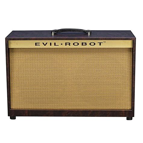 evil robot 2x12 usa guitar speaker cabinet musician s friend