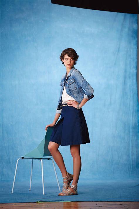 summer basics seven ways to wear the a line skirt