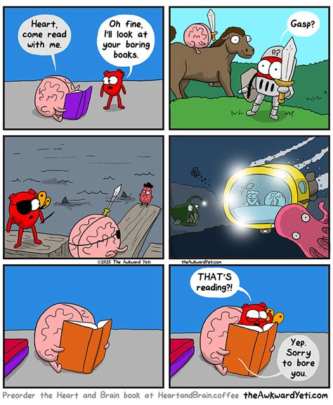 libro heart and brain an reading the awkward yeti