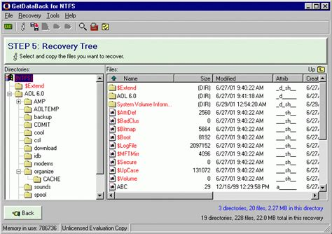 ntfs data recovery software full version getdataback data recovery for ntfs shareware version 4 10