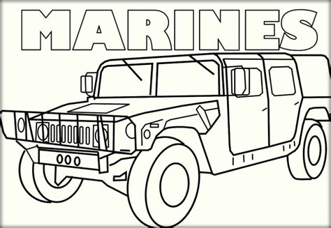 marines coloring pages printable free marines best free