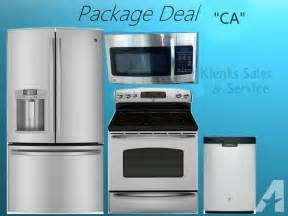 ge kitchen appliance packages 4 ge stainless steel kitchen appliance package deal quot ca quot quot for sale in barrington woods
