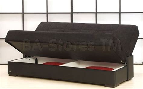 Futons With Storage by Planet Sofa Bed Microfiber Black Sofa Beds Fj Bedroom