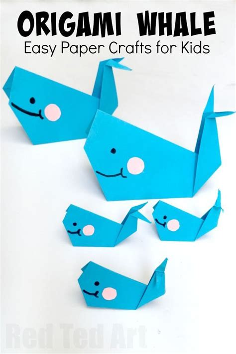 Origami For 9 Year Olds - 25 best ideas about whale crafts on big blue