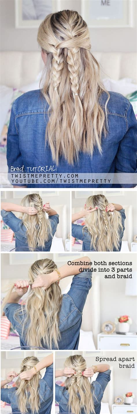 school hairstyles step by step an easy back to school hairstyle or step by steps from twistmepretty hair