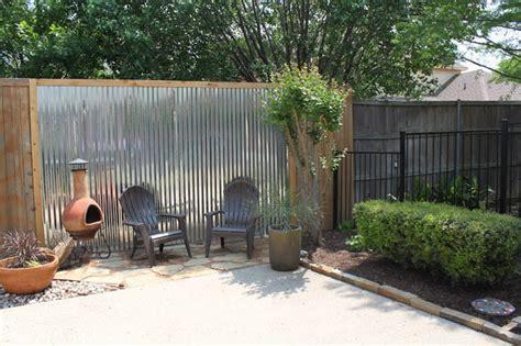 Outdoor Patio Fencing by Diy Fences The Garden Glove