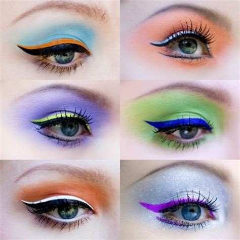 how to wear colored eyeliner how to wear colored eyeliner using different shades and