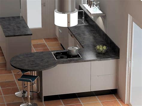 Affordable Small House Plans Trendy Plan De Travail En Forme De Virgule With Plan Snack